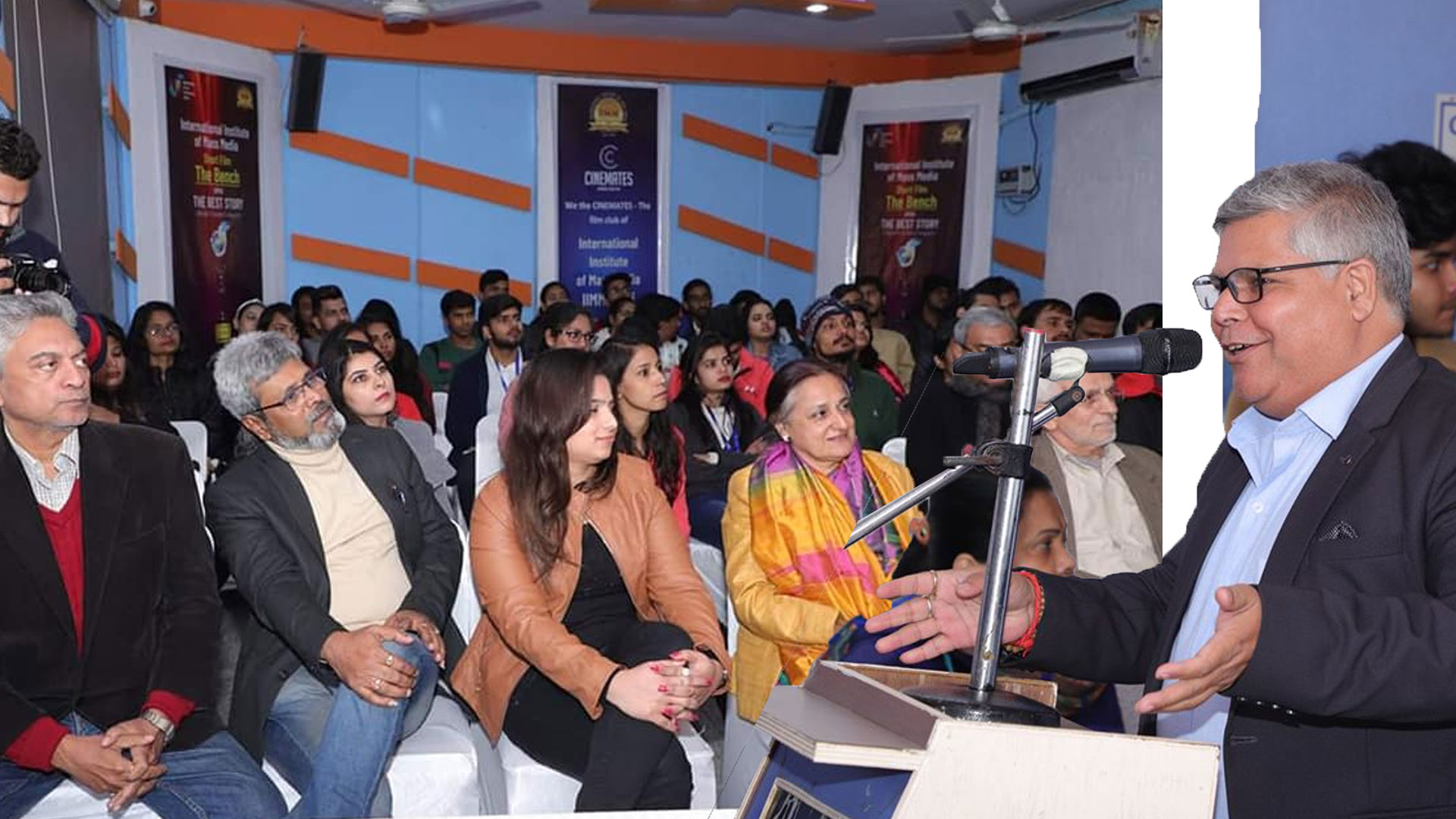 Motivational Speech at IIMM,(Delhi)